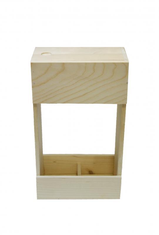 Cutie lemn Deux