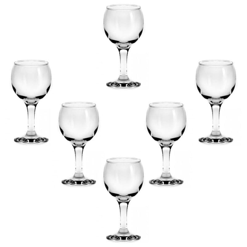 Set 6 pahare Bistro vin rosu