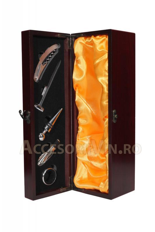 Cutie 5 accesorii vin Amarillo