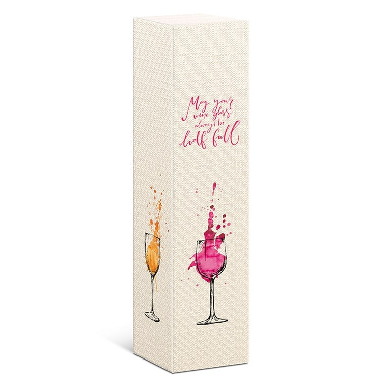 Cutie carton Wine Glass