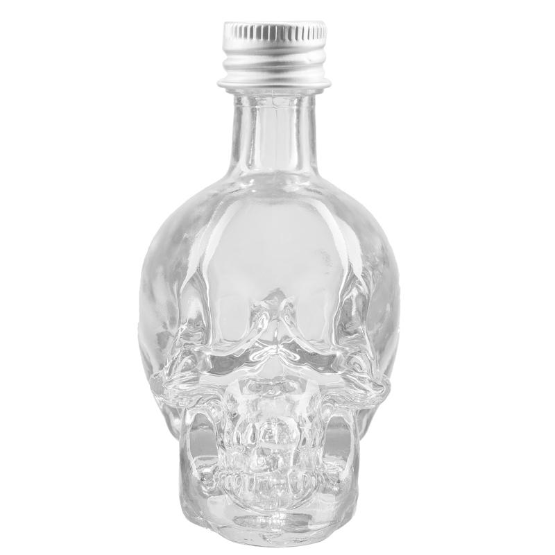 Sticla craniu 50 ml cu dop