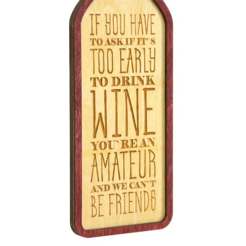 Tablou Amateur of Wine