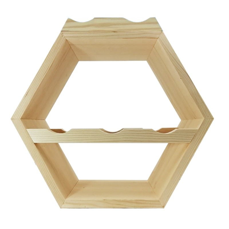 Raft hexagonal 5 sticle si suport exterior