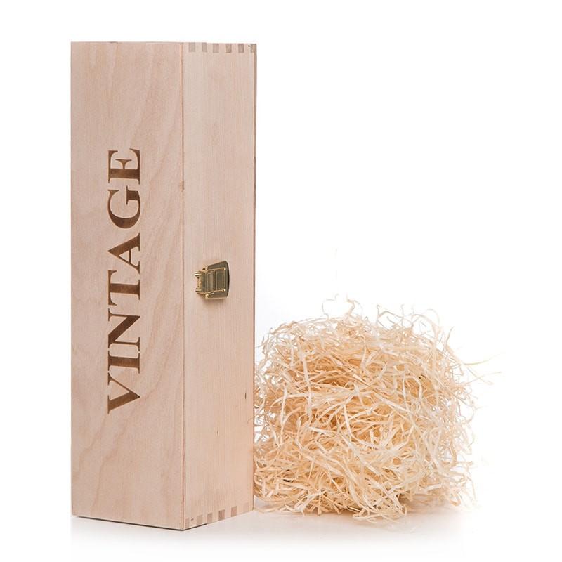 Cutie lemn cu inscris Vintage