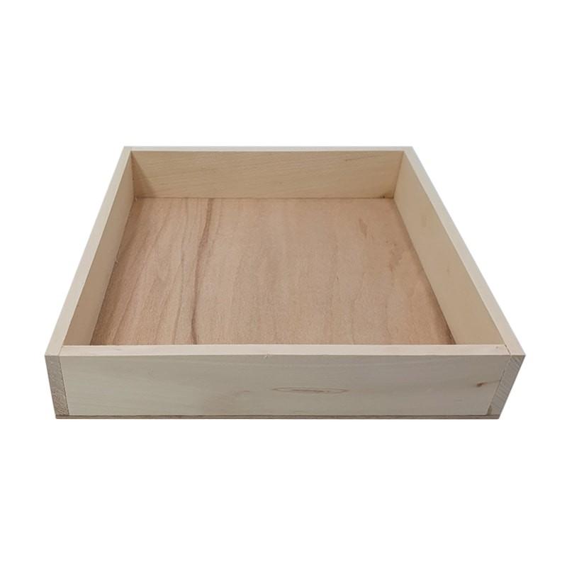 Tavita patrata lemn
