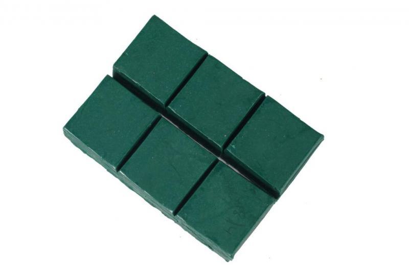 Ceara sintetica verde inchis (500gr)