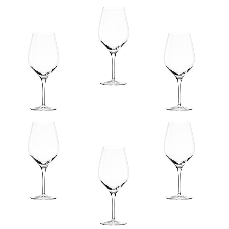Set 6 pahare Bordeaux Quatrophile vin rosu