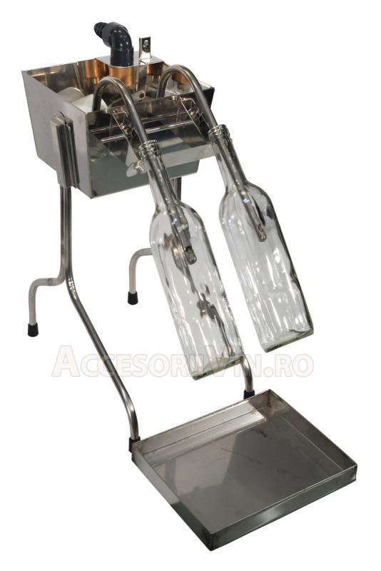 Dispozitiv umplere semi-automatic