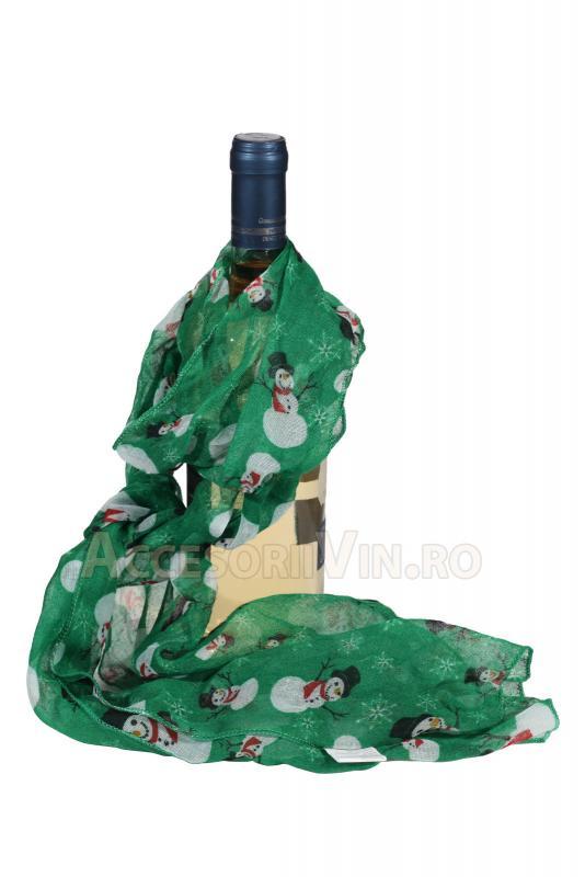 Esarfa sticla vin