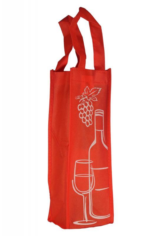 Sacosa rosie sticla vin