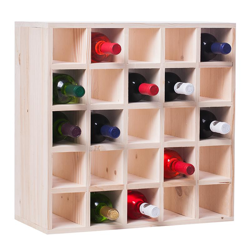 Raft natur retea CubX 25 sticle vin