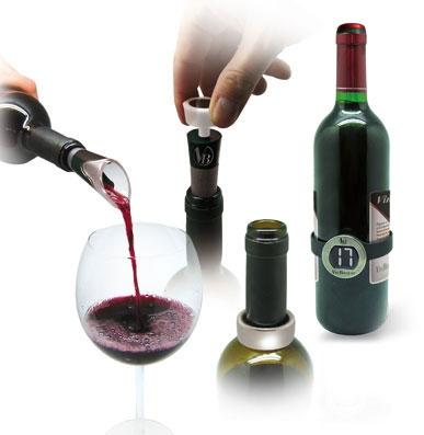 Set 4 accesorii vin
