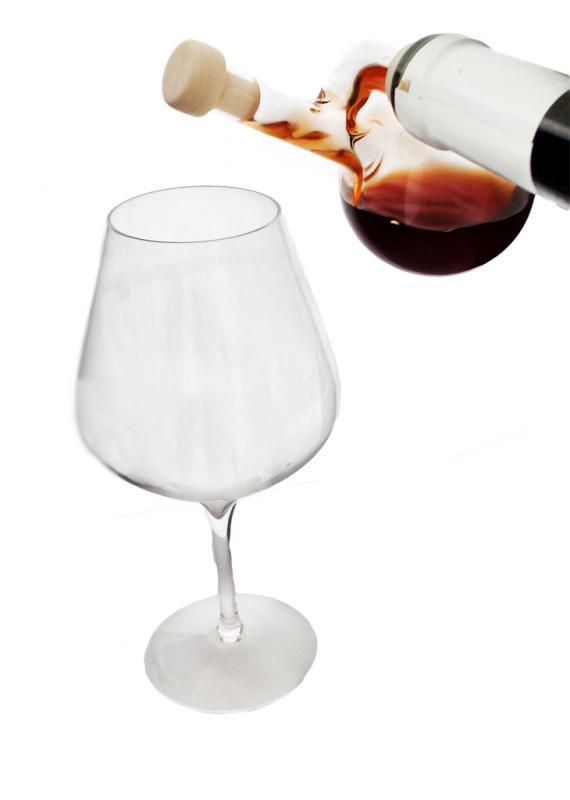 Dozator sferic din sticla
