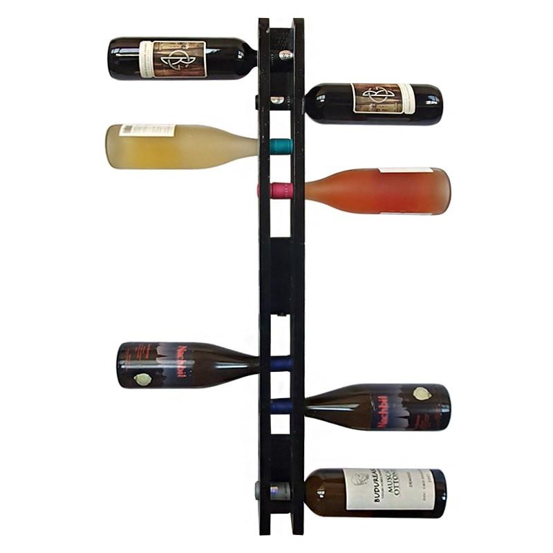 Suport negru 11 sticle vin