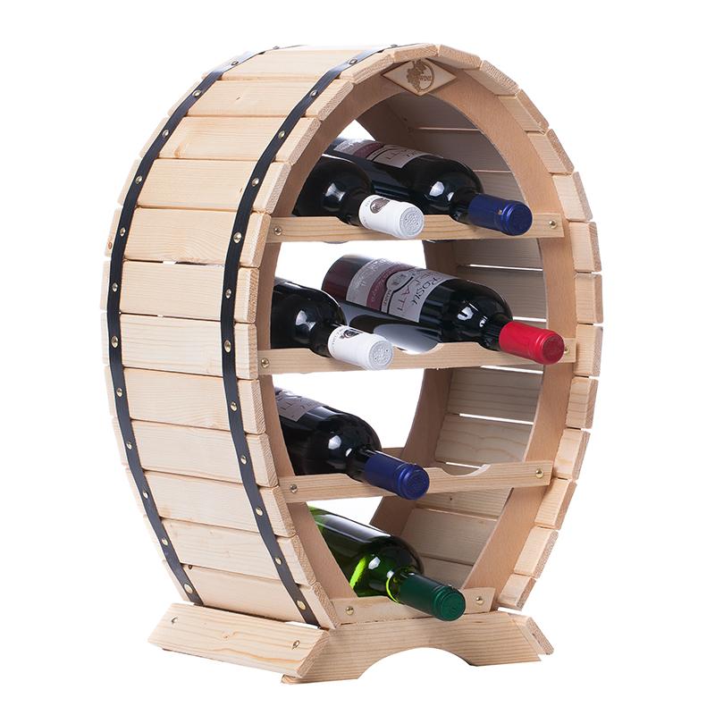 Raft Rustic natur 8 sticle vin