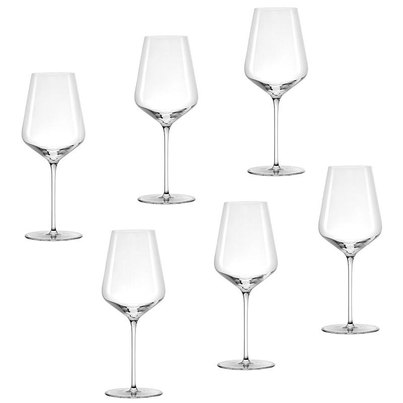 Set 6 pahare Bordeaux Starlight vin rosu