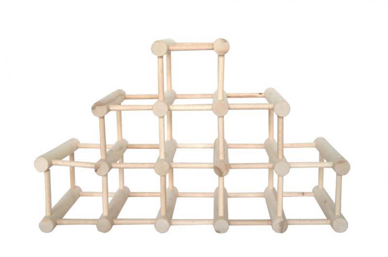 Raft 14 sticle - piramida