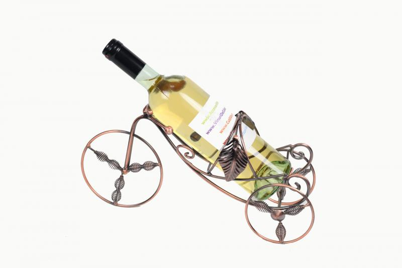 Suport tricicleta sticla vin