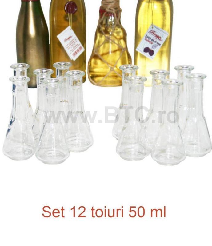 Set 12 toiuri 50 ml