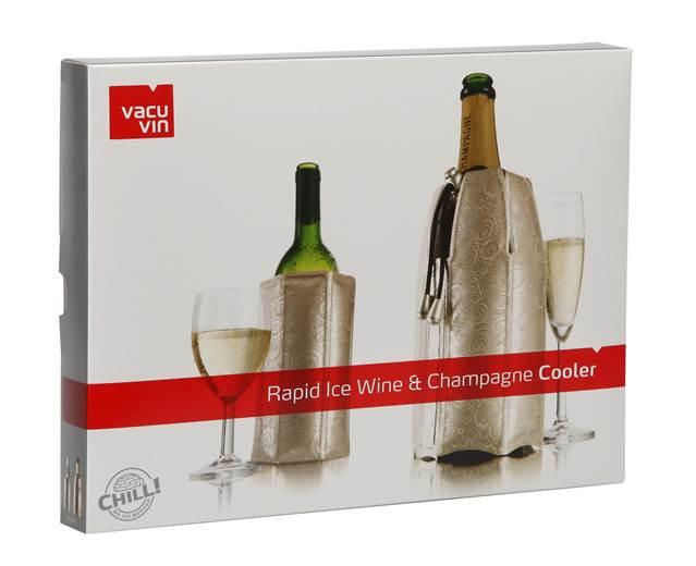 Set Platinum racitor vin si sampanie