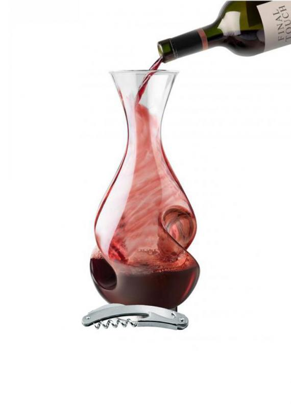 Set decanter Twister 750 si desfacator