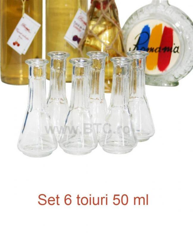Set 6 toiuri 50 ml