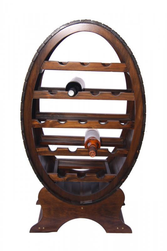 Raft lemn 19 sticle