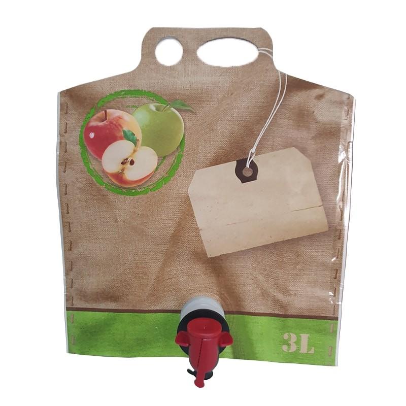Bag in box 3 L pentru suc