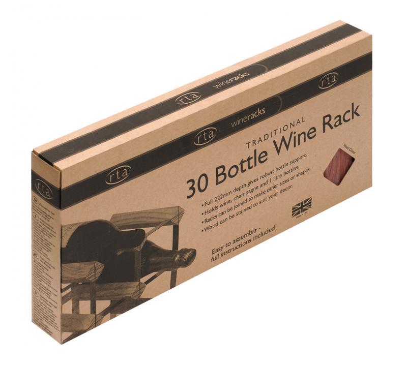 Raft negru 30 sticle