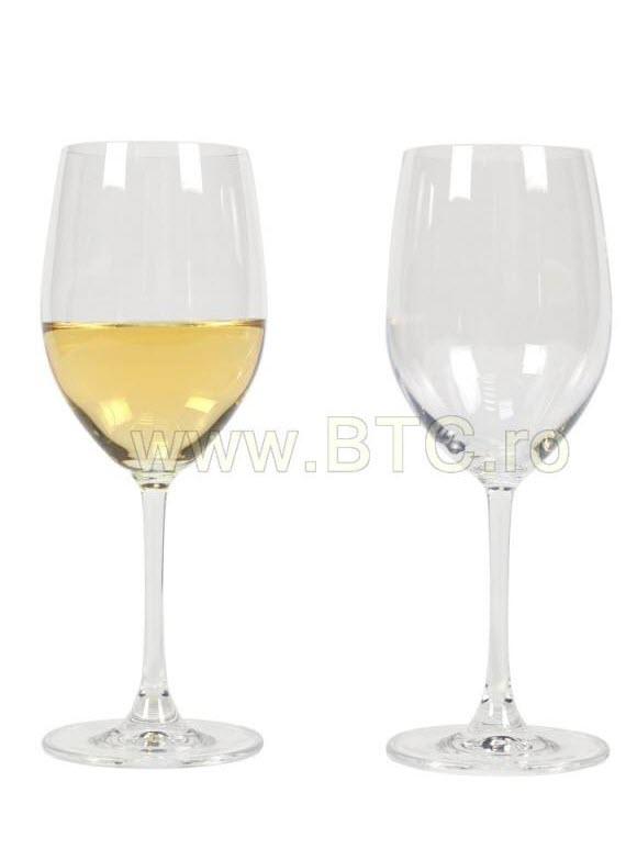 Set pahare pentru vin alb Clarity