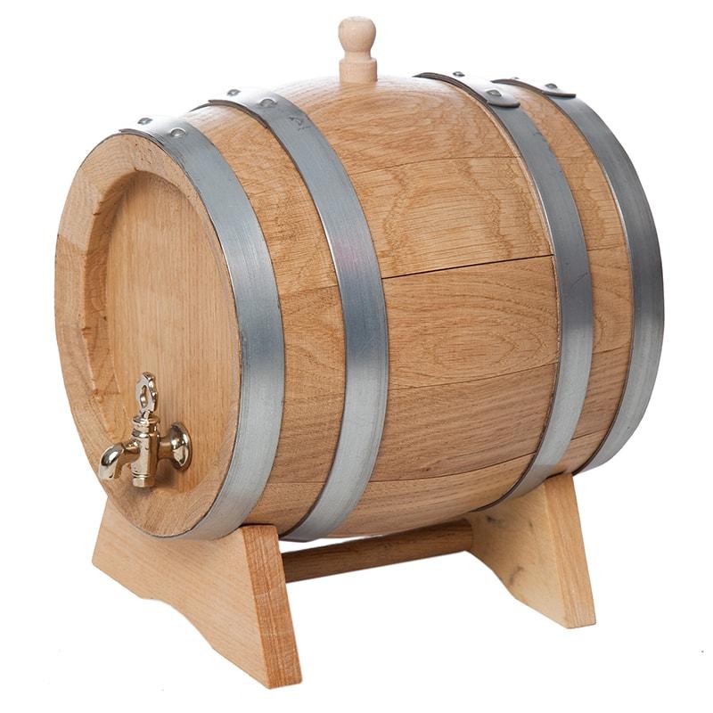 Butoi lemn stejar 3 litri