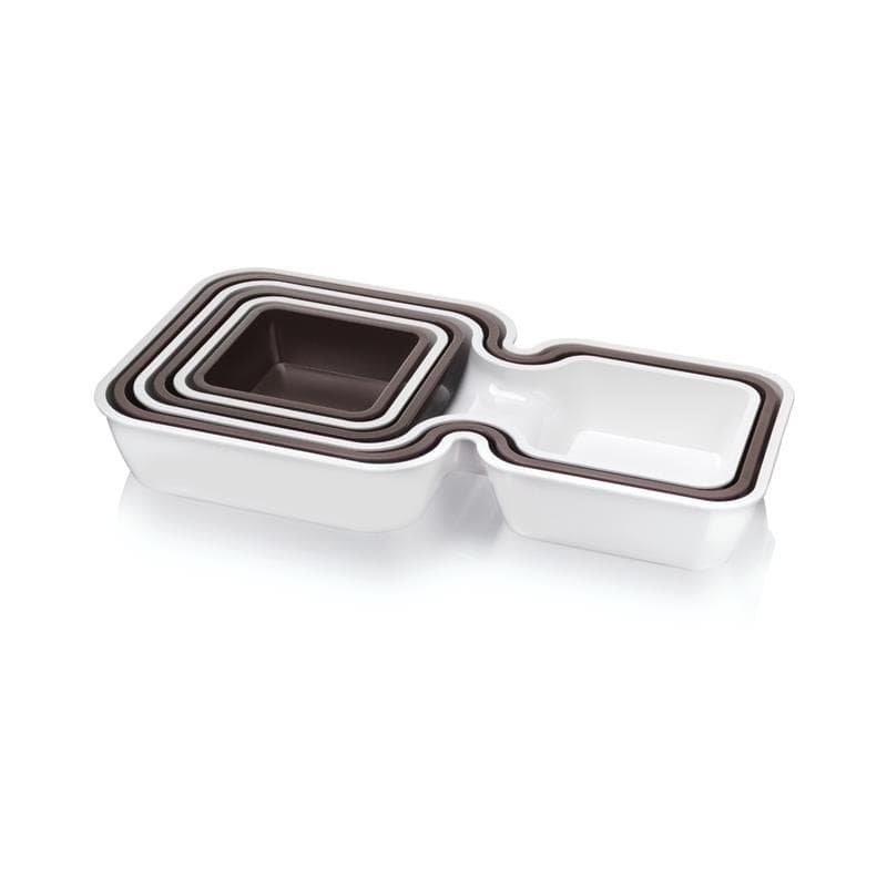 Set recipiente servire stivuibile