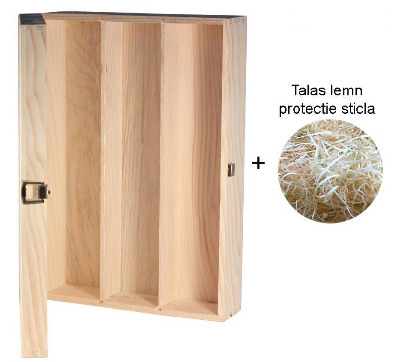 Cutie lemn TRIO