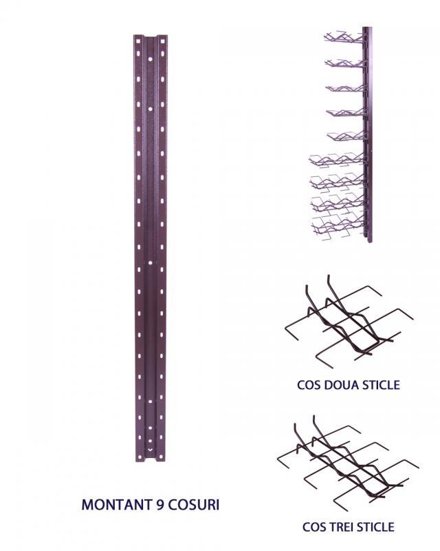 Montant vertical 114 cm
