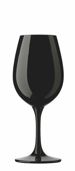 Pahar negru pentru vin