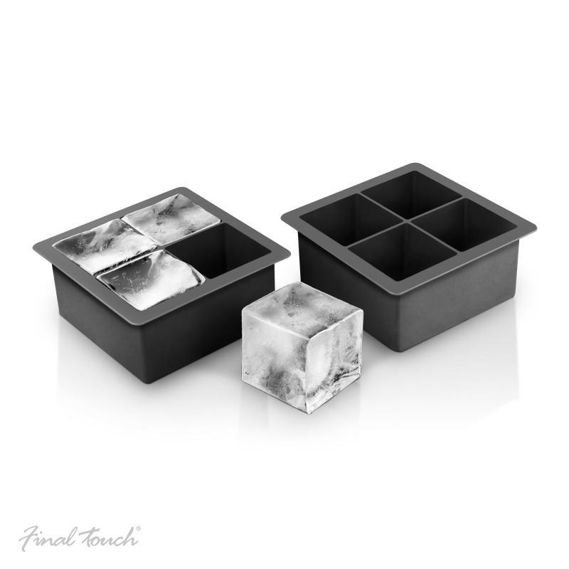 Set 2 forme silicon cuburi gheata 5cm