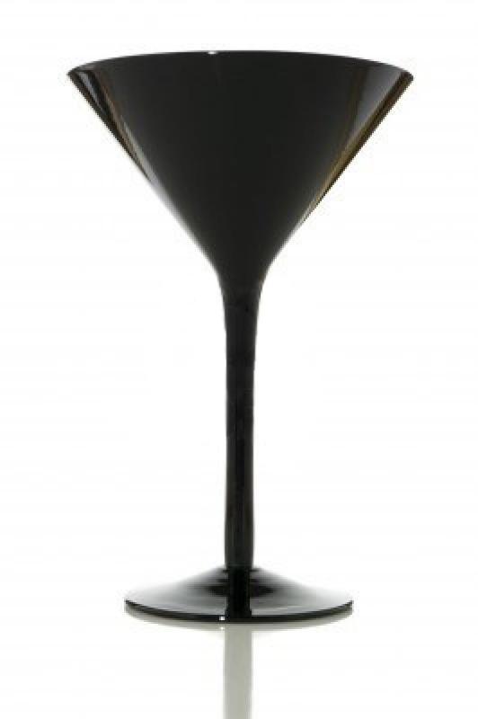 Pahar negru Martini