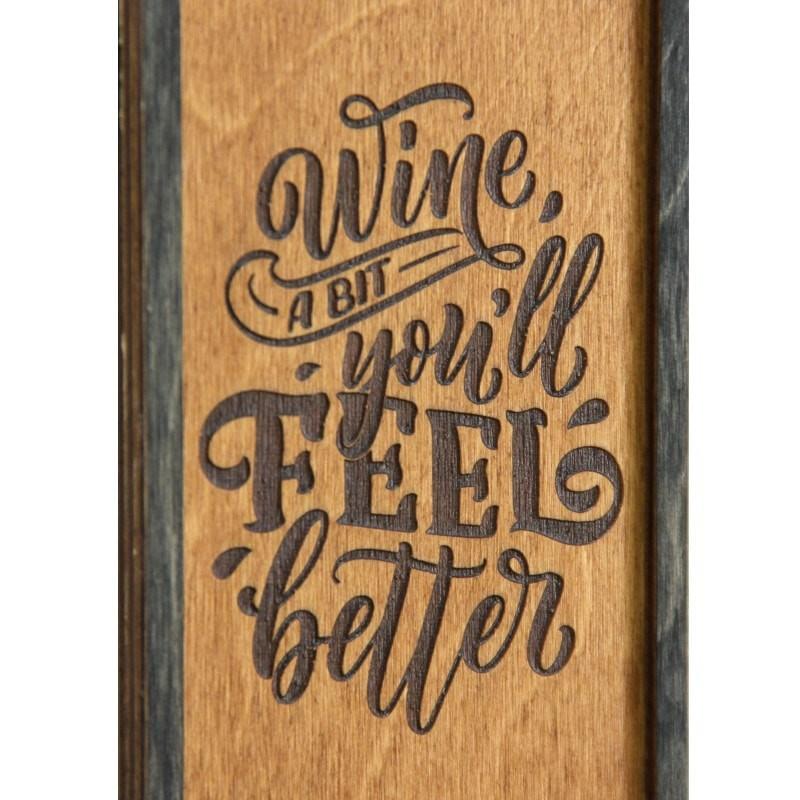 Tablou Wine a Bit