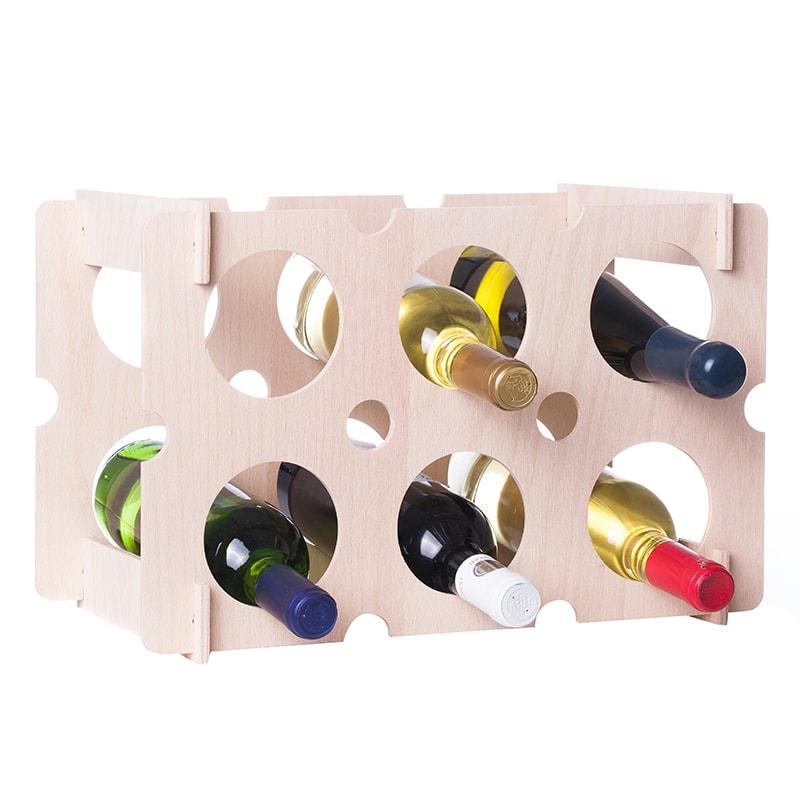 Raft natur Brick 6 sticle vin