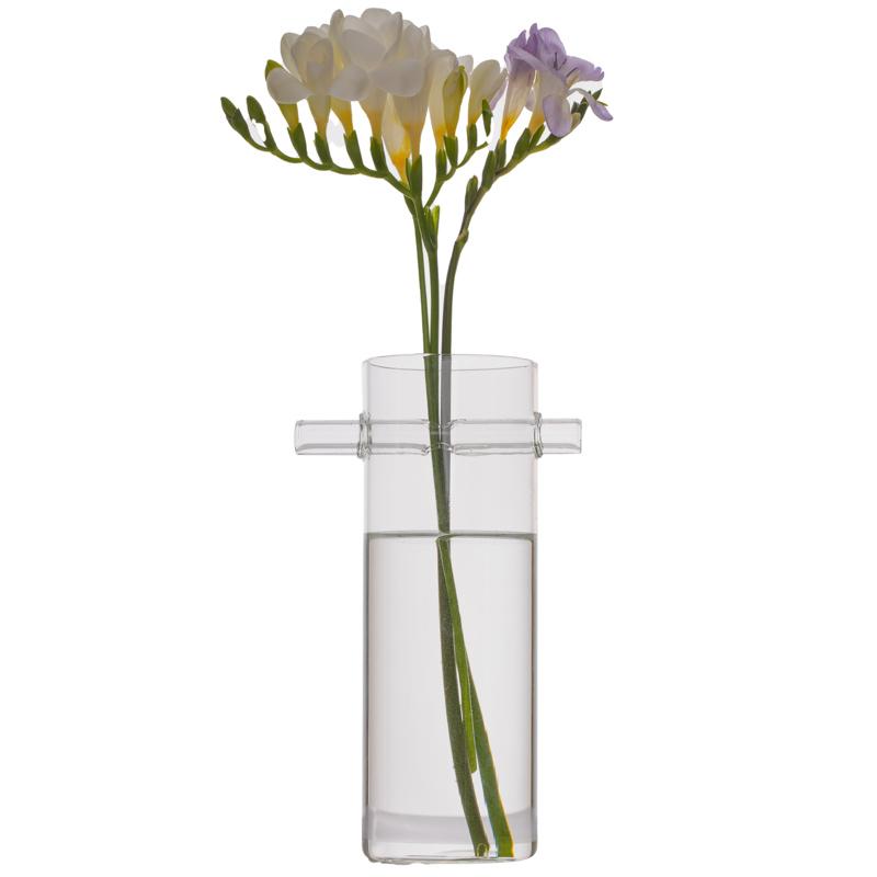 Vaza cilindrica cu tub orizontal