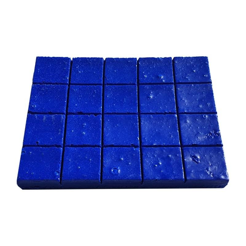 Ceara sintetica stralucitoare albastra (500 gr)