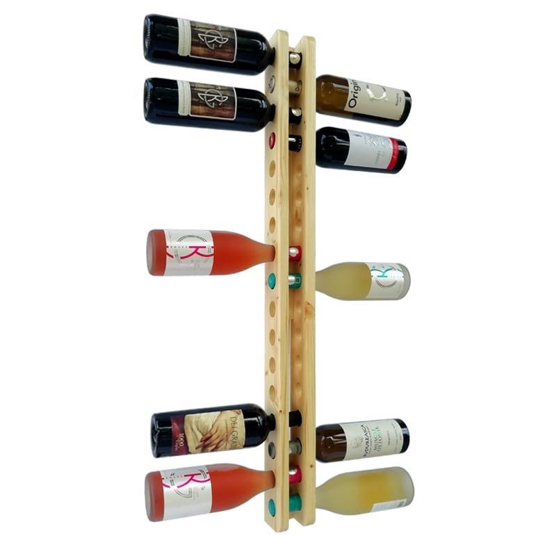 Suport natur 17 sticle vin