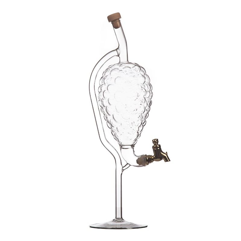 Sticla strugure cu robinet