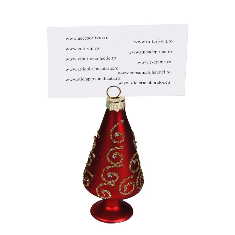 Card holder bradut rosu