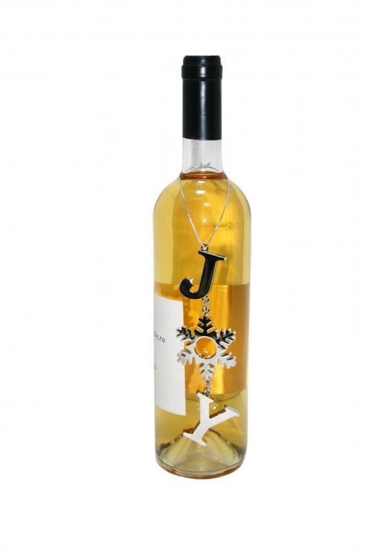 Decoratiune sticla vin Joy