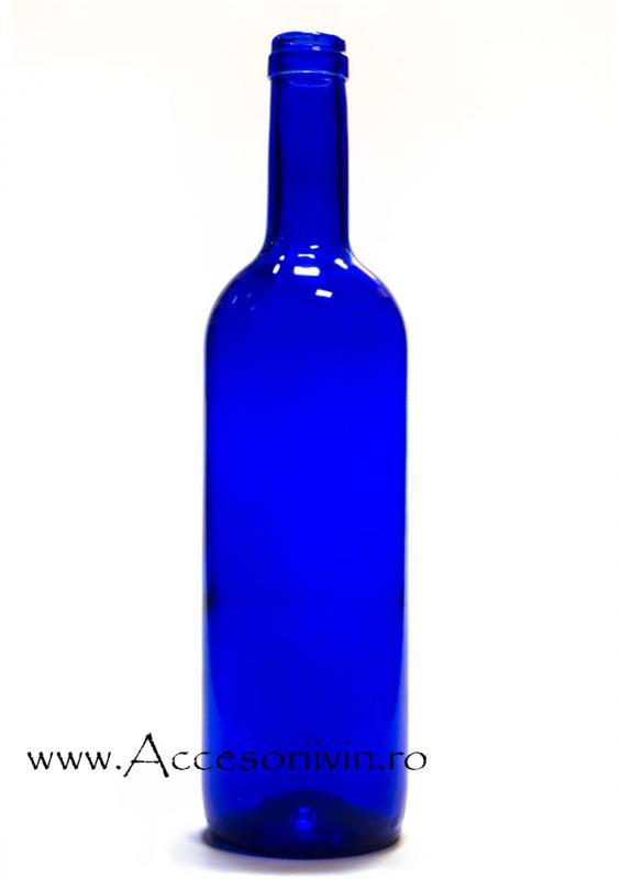 Sticla Bordo albastra