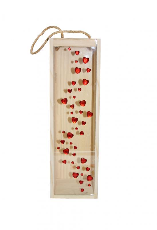 Cutie lemn Hearts