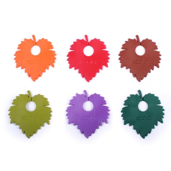 Set identificatoare pahare tip frunza
