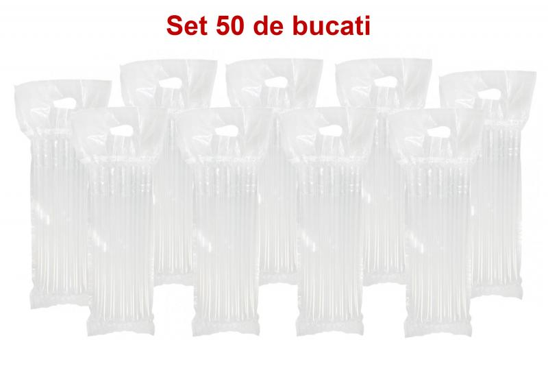Set 50 pungi gonflabile cu toarta aiRObag