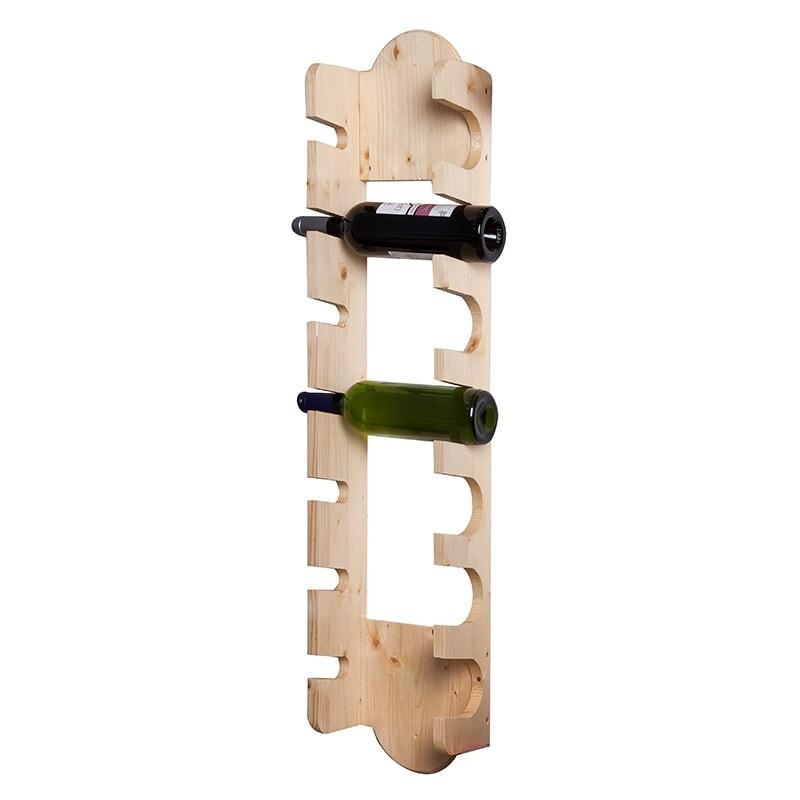Suport natur 7 sticle vin